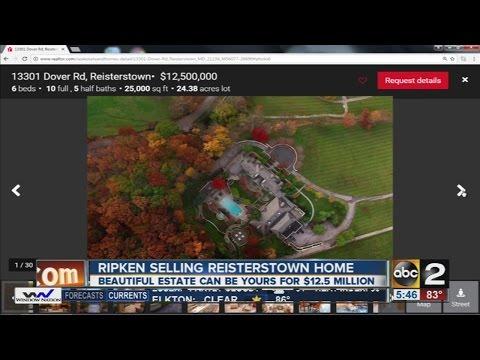 Cal Ripken Jr. puts his house on the market