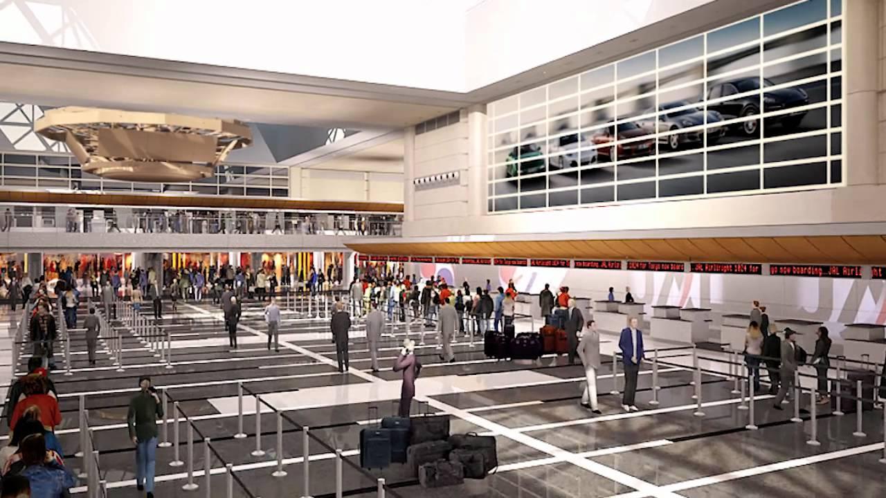 Los Angeles International Airport Departures