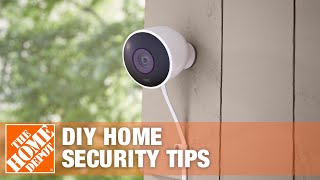 Home Security Tips and DIY Ideas   The Home Depot