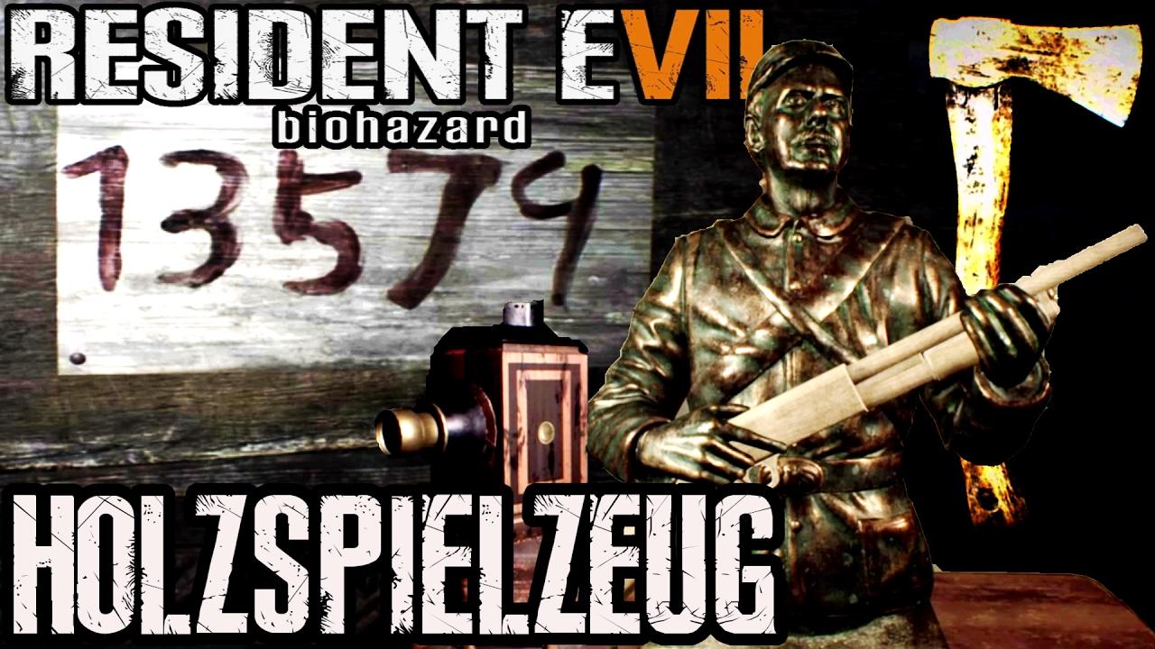 Resident Evil 7 Flintenattrappe Und Holzaxt Rätsel Gelöst Youtube