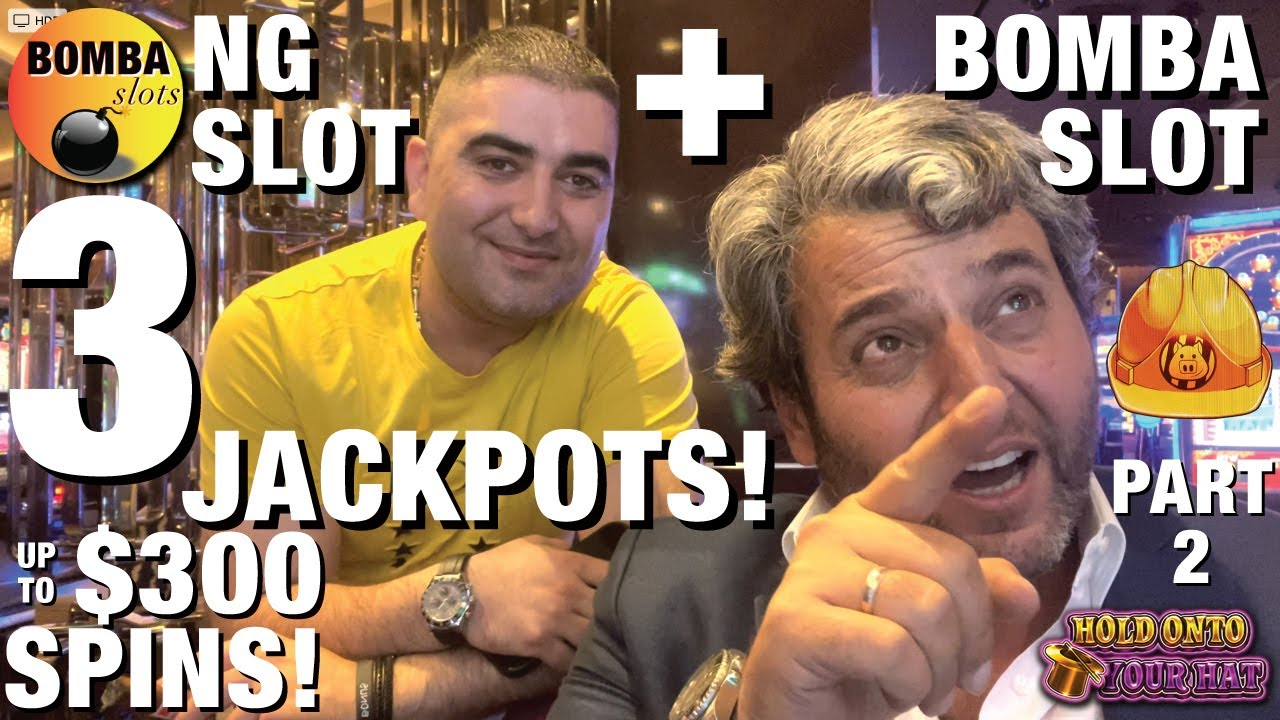 Download 3 JACKPOTS & up to 😳$300 SPINS! @NG Slot & @BOMBA Slots Premiere Part 2! HIGH LIMIT Slot WINS in LV!