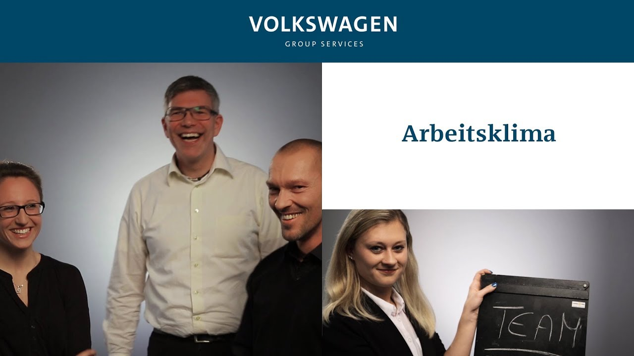 arbeitsklima so pers nlich meet volkswagen group services interview youtube. Black Bedroom Furniture Sets. Home Design Ideas