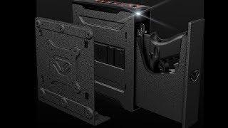 Features of Colion Noir Limited Edition Slider Safe by Vaultek