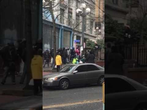 Pioneer Square fight