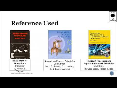 Recommended Mass Transfer Reference: Books and e-Books Used (Lec 005)