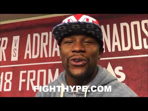 FLOYD MAYWEATHER TALKS CHRIS BROWN VS. SOULJA BOY DETAILS; LOOKS FORWARD TO ENTERTAINING EVENT