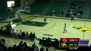 CPP Basketball vs. Cal State East Bay