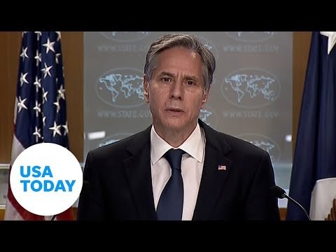 Sec. of State Blinken speaks on completion of withdrawal from Afghanistan   USA TODAY