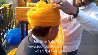 Indian Turbans, Indian wedding turbans- Jitu Bhai Safe Wale