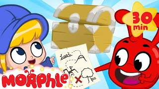 Morphle's Big Treasure Hunt - Mila and Morphle | BRAND NEW | Cartoons for Kids | Morphle TV