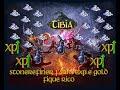 TIBIA STONEREFINER 8-100 FARMANDO EXP E GOLD 20-40~60K FREE ACC 80-120-200k/h EXP
