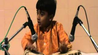 Hemant Joshi Tabla solo part 3 - Indian academy of Music program