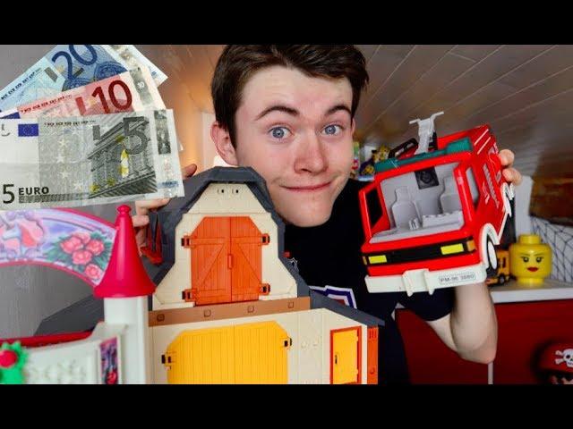 je vends ma collection playmobil