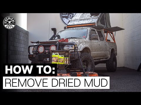 How To Easily Remove Dried Mud The Right Way! - Chemical Guys