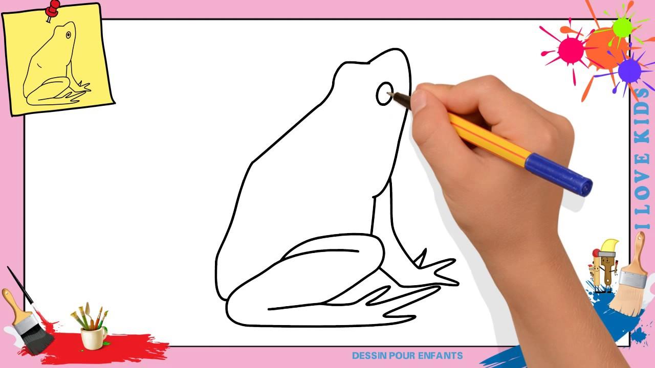Dessin grenouille facile 4 comment dessiner une - Comment dessiner une sorciere facilement ...