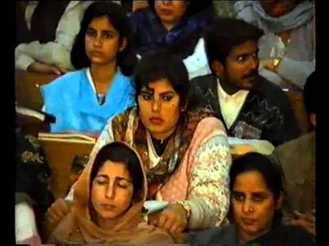 J.Salik Visit the PIMS Nursing School in 1995