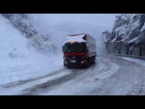 Снегопад Туапсе Новомихайловский перевал