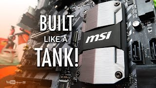 MSI B350 Tomahawk AM4 Unboxing & Overview - Built like a TANK! [Ph]