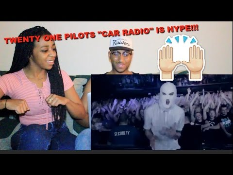 Couple Reacts : Twenty One Pilots Car Radio Music  Reaction!!!