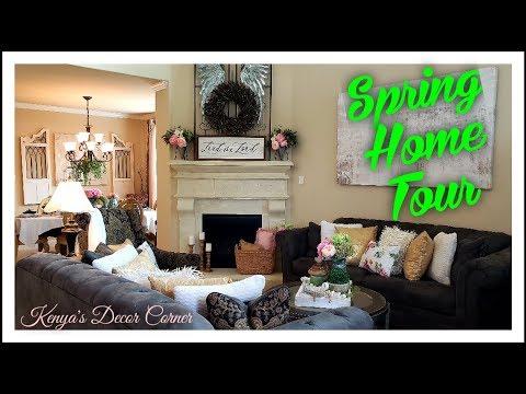 Spring Easter Home Tour 2019 Farmhouse Cottage Decor