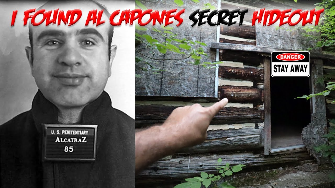 I FOUND AL CAPONE'S SECRET HIDEOUT in the FOREST (MYSTERY HOUSE)
