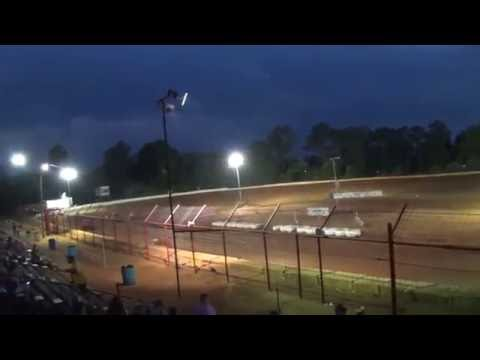 Southern Vintage Racing Association Heat Races 6/18/16 Flomaton Speedway
