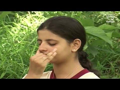 Yoga Exercise For Proper Breathing - Chandra Nadi Pranayama (Left Nostril Breathing)