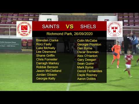 Highlights: Saints 2 - Shels 0 (26/09/2020)