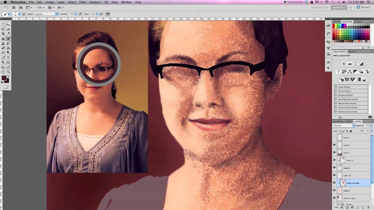 Digital Illustration - Portrait Painting
