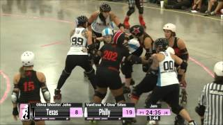 Dallas Game 12: Texas Rollergirls v Philly Roller Derby