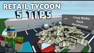 5 Tips and Tricks for Retail Tycoon - Roblox