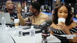 #TheBreakfastClub.. Kevin Hart and Tiffany Haddish addresses Mike Epps and Katt Williams..
