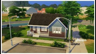 Luxury Starter Home // The Sims 4: Speed Build