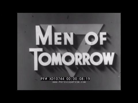 "1941 HISTORY OF YMCA PROMO FILM  ""MEN OF TOMORROW""  JULIEN BRYAN W/ SEGREGATED YMCAs  XD10744"