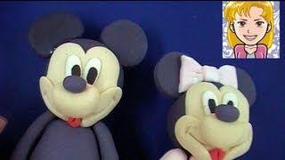 Cómo Modelar A Mickey O A Minnie Mouse