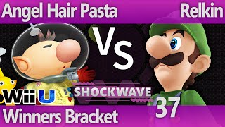 SW 37 Wii U - Angel Hair Pasta (Olimar) vs Relkin (Luigi) - Winners Bracket