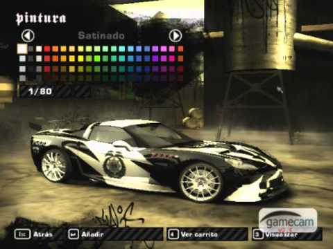 Nissan Fairlady Z >> NFSMW - Corvette C6 De Cross - YouTube