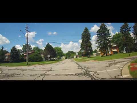 Driving around Strongsville, Ohio