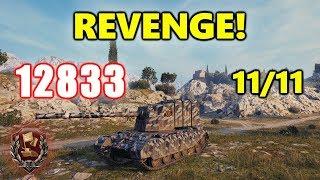 World of Tanks - FV 4005 - 13K DAMAGE - REVENGE! 11/11