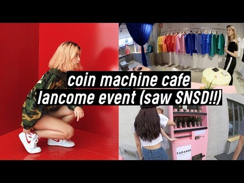 Coin Machine Themed Cafe, Lancome Event (saw SNSD Tiffany!), First Jordan Store in Korea | DTV #37