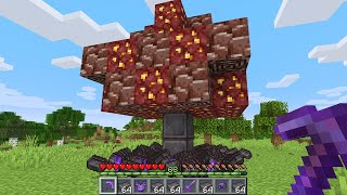 Minecraft UHC but netherite grows on trees...