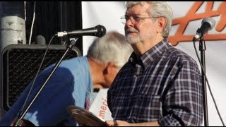 George Lucas In Modesto, California - American Graffiti 2013 - George Lucas Speech - Modesto News