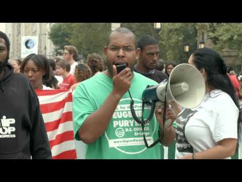 Eugene Puryear DC Statehood Green Party speaks at People