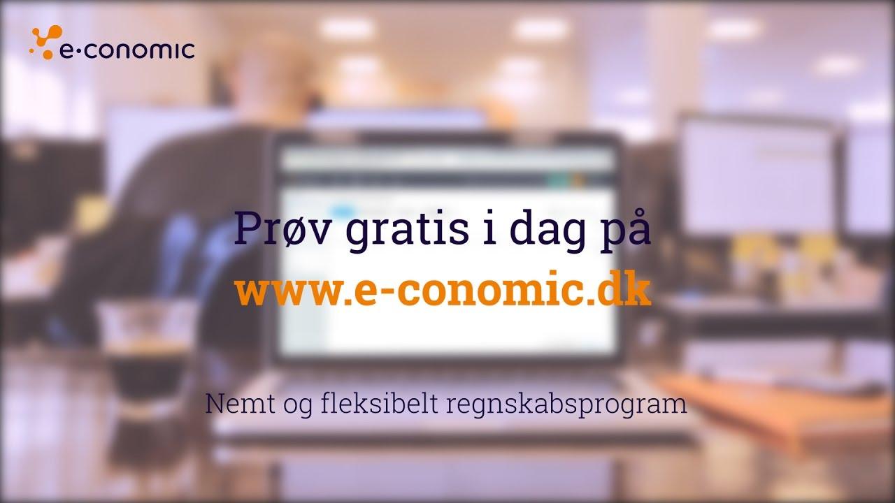 economics regnskabsprogram