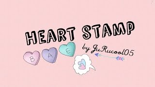 Stamp heart | DIY | JuRucool05 ❤ Thumbnail