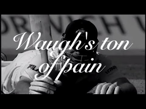 Waugh's ton of pain