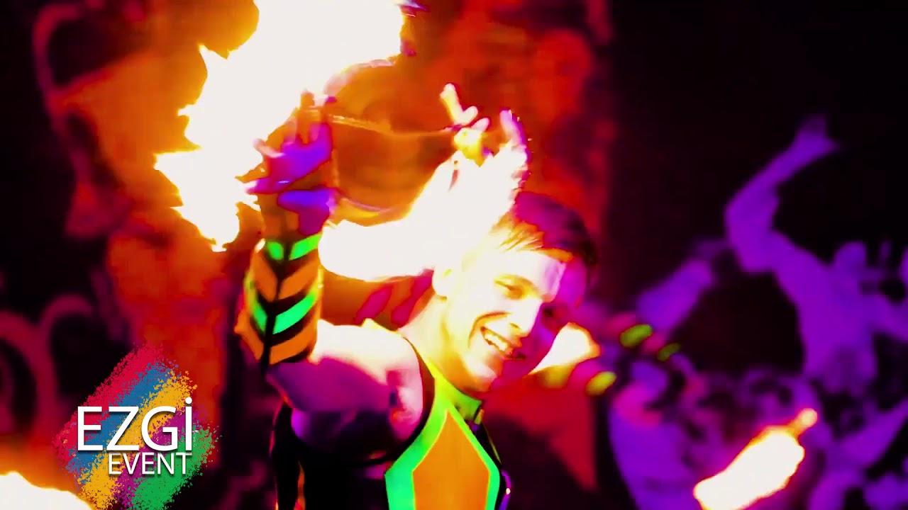 Led & Fire Dance Show