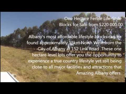 Marbelup Ridge Estate Land Development in Albany WA 6330