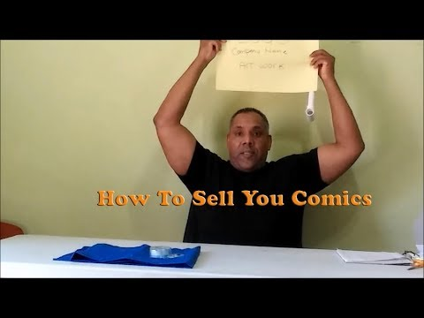 How to sell your comics at a comic book convention