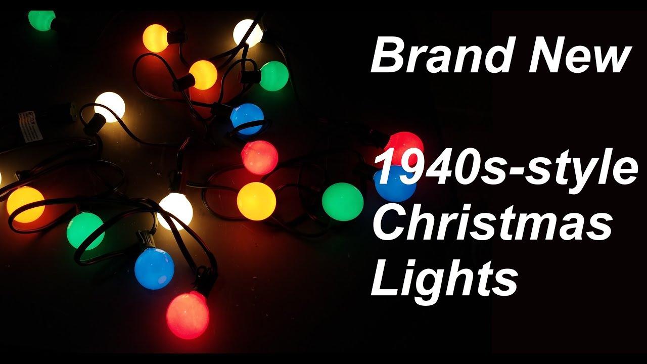 Gl Globe Christmas Lights